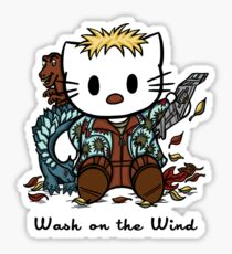 Wash on the Wind Sticker