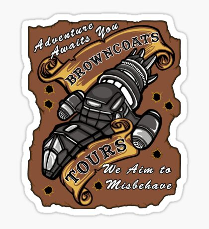 Browncoat Tours  Sticker