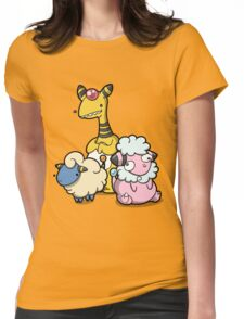 Electric sheep Womens Fitted T-Shirt