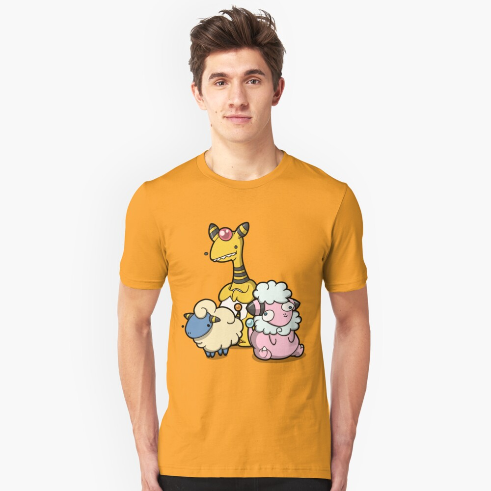 Electric sheep Unisex T-Shirt Front