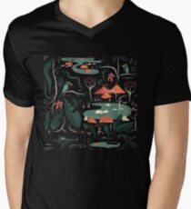 The Water Hole Mens V-Neck T-Shirt