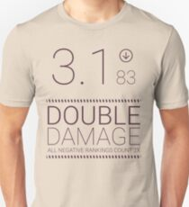 Black Mirror - Nosedive Double Damage Unisex T-Shirt