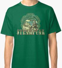 Grunge Steampunk Vintage Robot  Classic T-Shirt