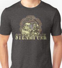Grunge Steampunk Vintage Robot  T-Shirt