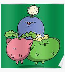 Little Puffballs Poster