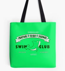 Free! Iwatobi Swim Club Shirt (Makoto, Captain) green Tote Bag