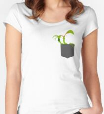 Bowtruckle in the pocket Women's Fitted Scoop T-Shirt