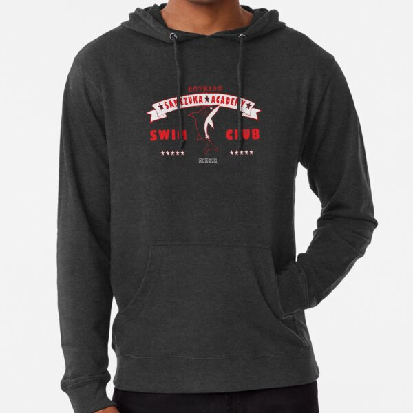 Free! Iwatobi Swim Club Shirt (Rin, Member) red Lightweight Hoodie