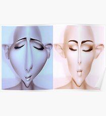 Alien mannequins Poster