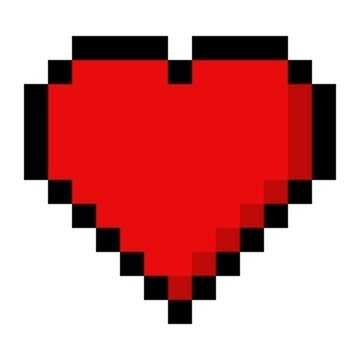 Two and a Half 8-Bit Hearts by BasedPutnam