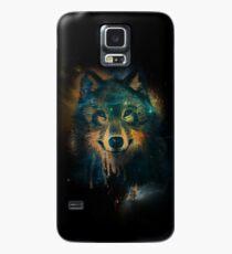 Galaxy Wolf Case/Skin for Samsung Galaxy