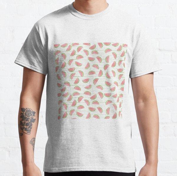 patrón de sandía Camiseta clásica