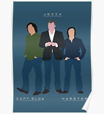 Capt Slow Jezza & Hamster Poster