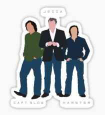 Capt Slow Jezza & Hamster Sticker