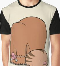 Chubby Pigs Graphic T-Shirt