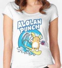 Raichu Alola Pokémon Sol y Luna Women's Fitted Scoop T-Shirt