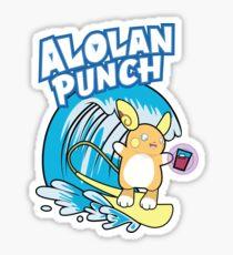 Raichu Alola Pokémon Sol y Luna Sticker