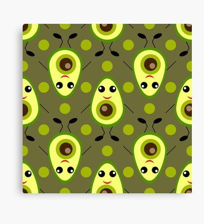 Cute Avocado Canvas Print