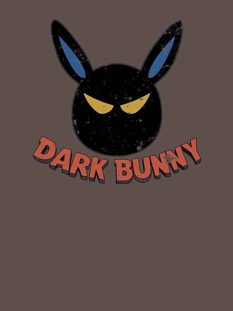 Dark Bunny - distressed by mosshrooms