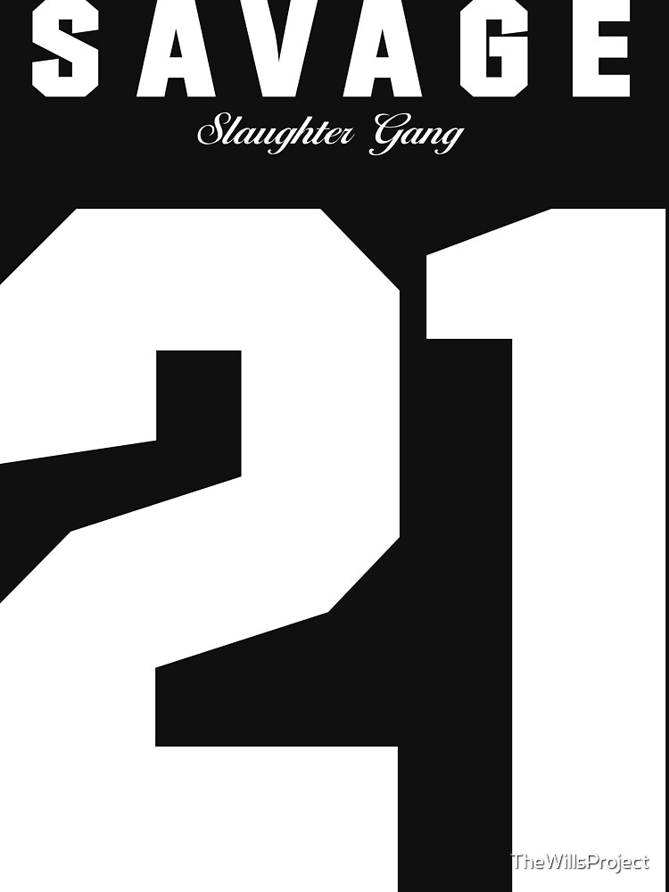 21 Savage Jersey | Unisex T-Shirt