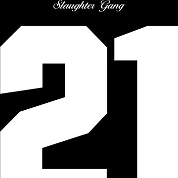 21 Savage Jersey by TheWillsProject