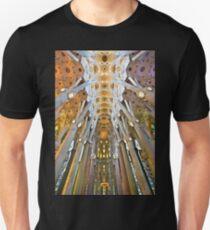 Inside the Sagrada Familia - Barcelona Unisex T-Shirt