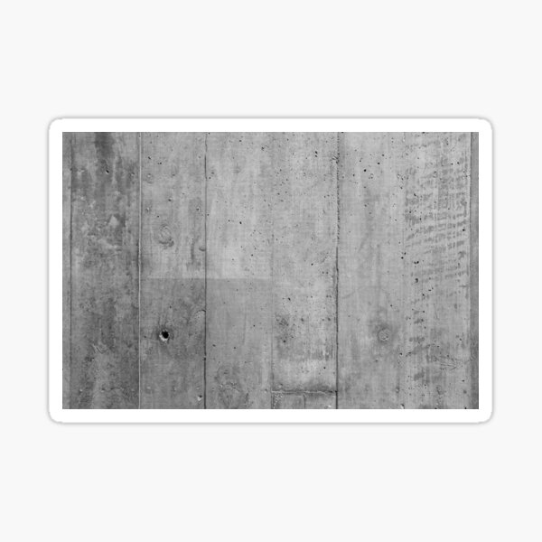 Off Form Concrete Texture Sticker