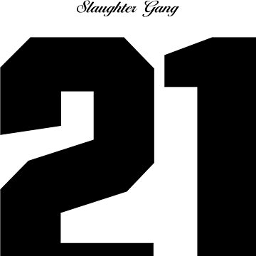 21 Savage Jersey (BLACK) by TheWillsProject
