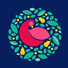 Partridge in a Pear Tree by istaria