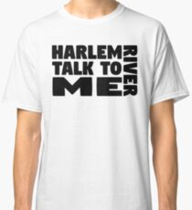 kevin morby harlem river indie music pop lyrics cool typography t shirts Classic T-Shirt