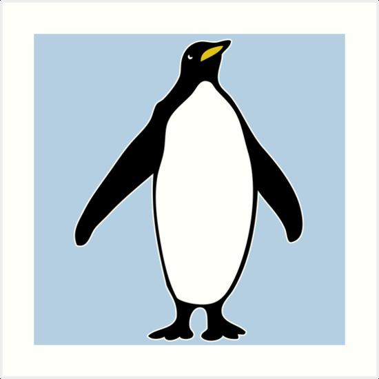 penguin penguin by huggymauve