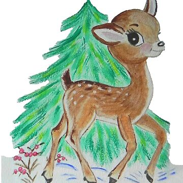 Oh Deer its snowing by whiteygilroy