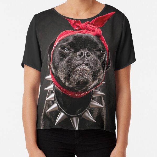The Pug Life - Snoop Pug Chiffon Top