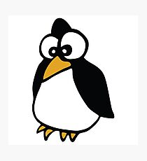 pingouin Penguin linux cartoon Photographic Print