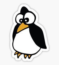 pingouin Penguin linux cartoon Sticker