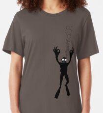 OK TAUCHER Slim Fit T-Shirt