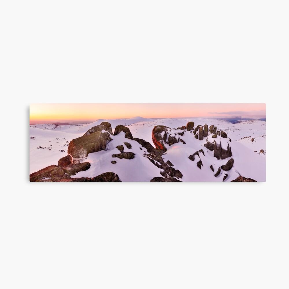Summit from North Rams Head, Mt Kosciuszko, New South Wales, Australia Canvas Print