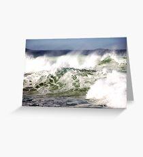 Rough Seas Greeting Card