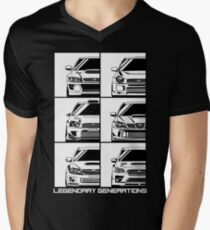 Impreza Generations Men's V-Neck T-Shirt