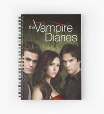 The Vampire Diaries Cover Spiral Notebook