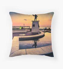 Ponce De Leon at Sunset Throw Pillow