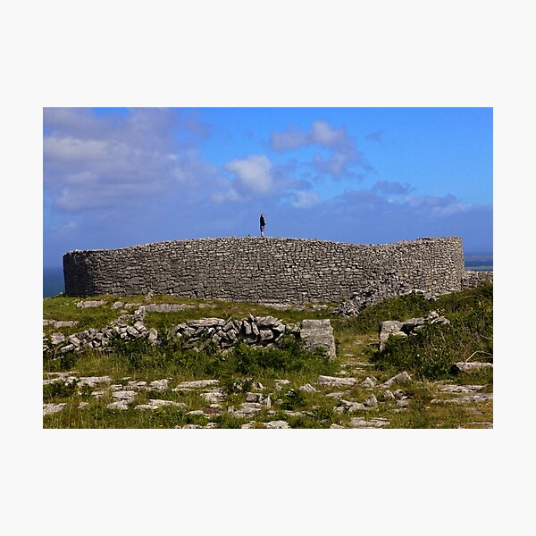Dun Eochla Stone Fort - Inishmore Photographic Print