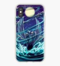 "Lugia ""Lord of the Sea"" Pokémon Silver and Gold iPhone Case"