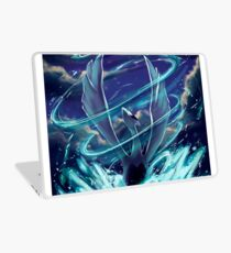 "Lugia ""Lord of the Sea"" Pokémon Silver and Gold Laptop Skin"