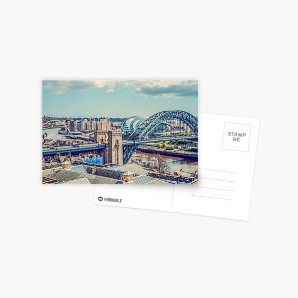 Newcastle Upon Tyne Postcard