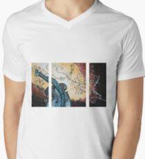 Violin Men's V-Neck T-Shirt