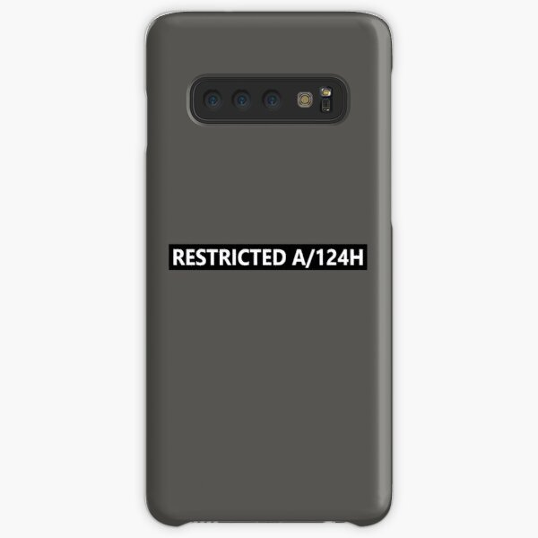 RESTRICTED A/124H - HUMANS Samsung Galaxy Snap Case