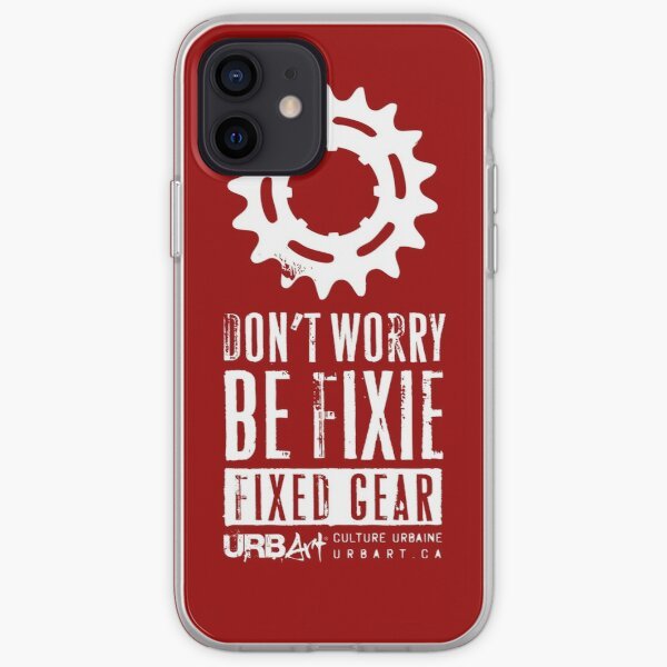 UrbArt® - Fixed gear-01 Coque souple iPhone