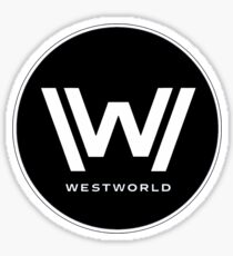 Westworld Logo Sticker