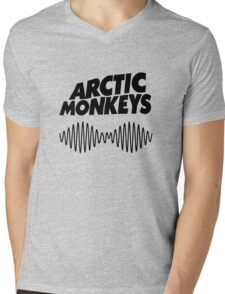 arctic monkeys - black shirt Mens V-Neck T-Shirt